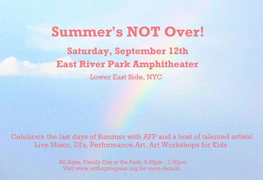 Summer's NOT Over!