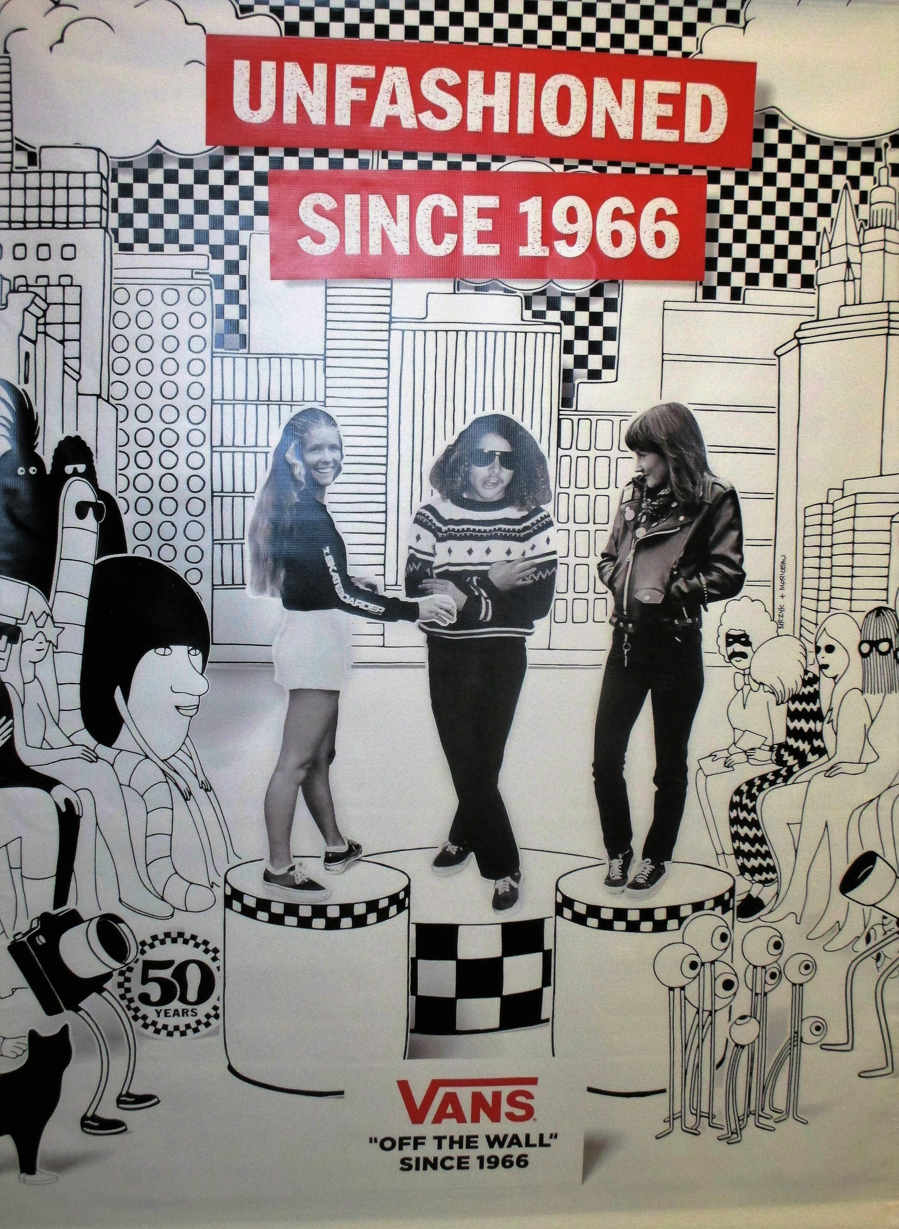 Vans  50th Anniversary Celebration - Art For Progress 7ffb42685c63