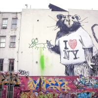 Banksy, Rat NYC
